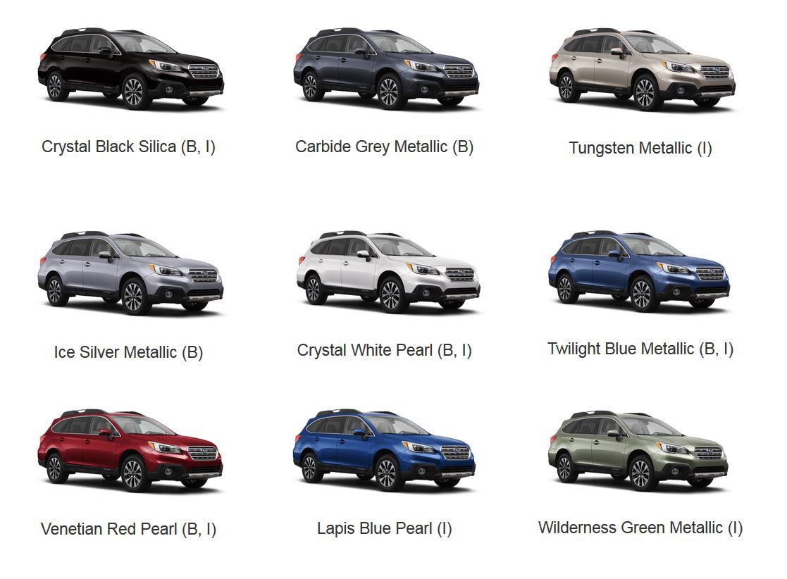 2016 Outback Colors Jpg