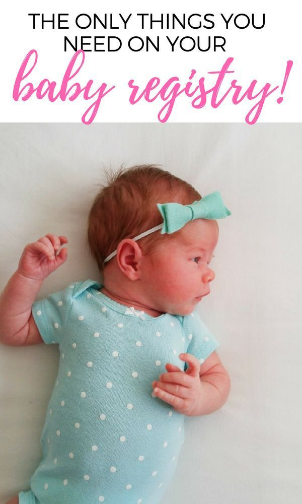 The Ultimate First Time Mom Baby Registry Checklist | Baby ...