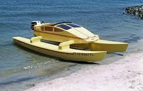 Image result for Trailerable catamaran motor sailers designs