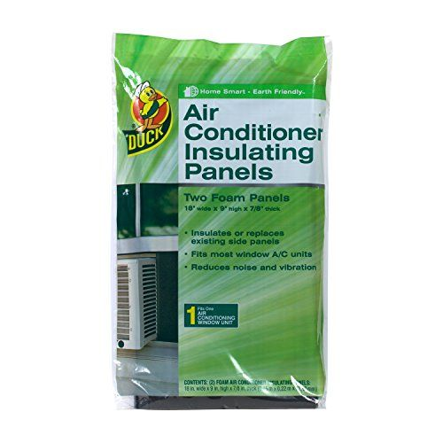 Duck Brand 1286294 Air Conditioner Foam Insulating Panels 18inch X 9inch X 78inch Each Pack Of 2 Panels To View Furthe Window Air Conditioner Air Conditioner