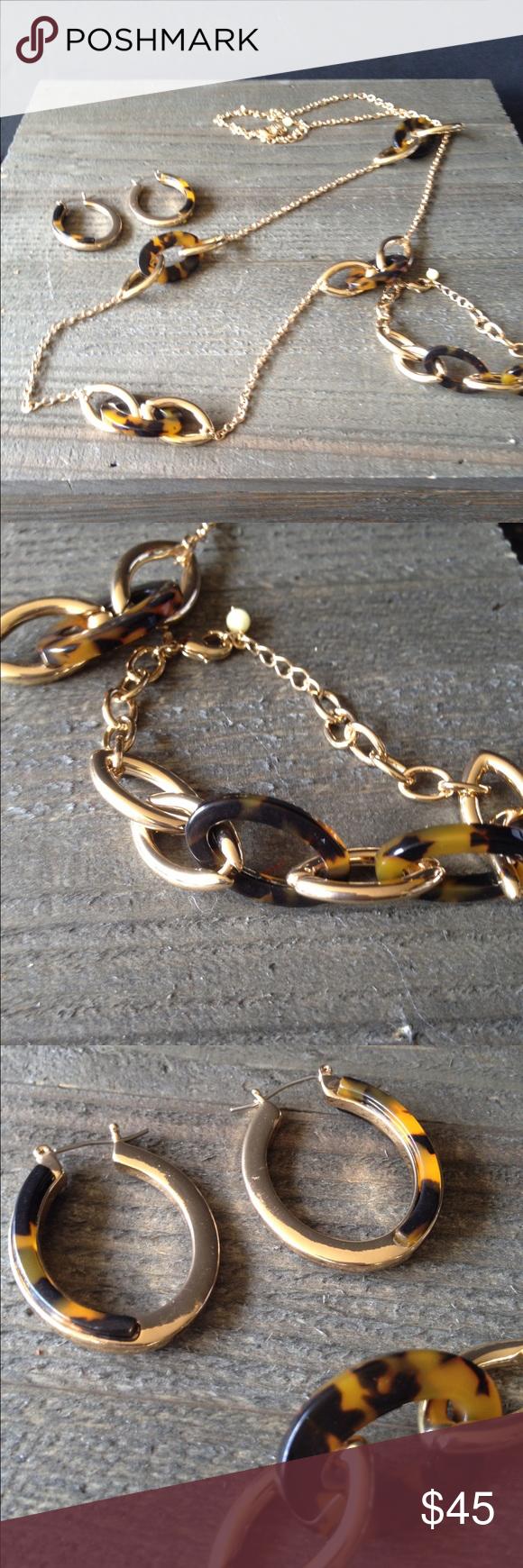 Gold coast necklace bracelet and earrings set my posh closet