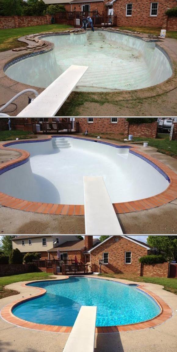Thumbtack Profile Vip Pools Llc Fairfax Va Backyard Pool Landscaping Pool Repair Swimming Pool Repair