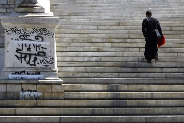 """""""There is an inability to distinguish what is a monument, and what is not,"""" said Zetta Antonopoulou, an architect who has conducted extensive research on Athens statues, many of which are routinely marked with spray paint. """"It's getting out of control and it's not easy to explain why."""""""