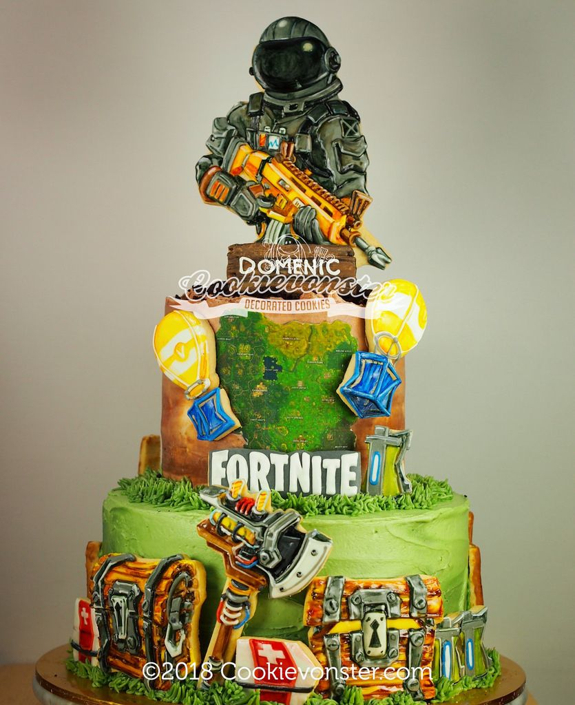 Image result for fortnite cakes | Walmart birthday cakes ...