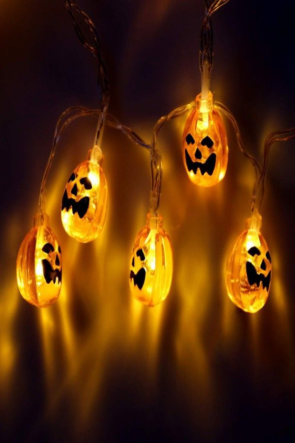 Halloween Decoration Lights String Battery Operated Warm Light