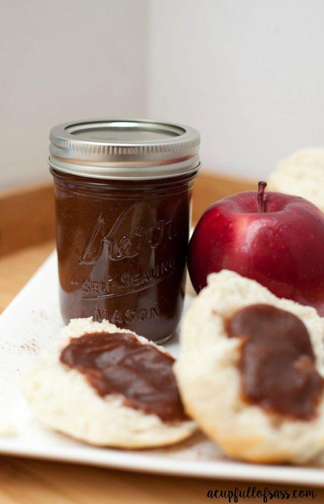 apple butter jar