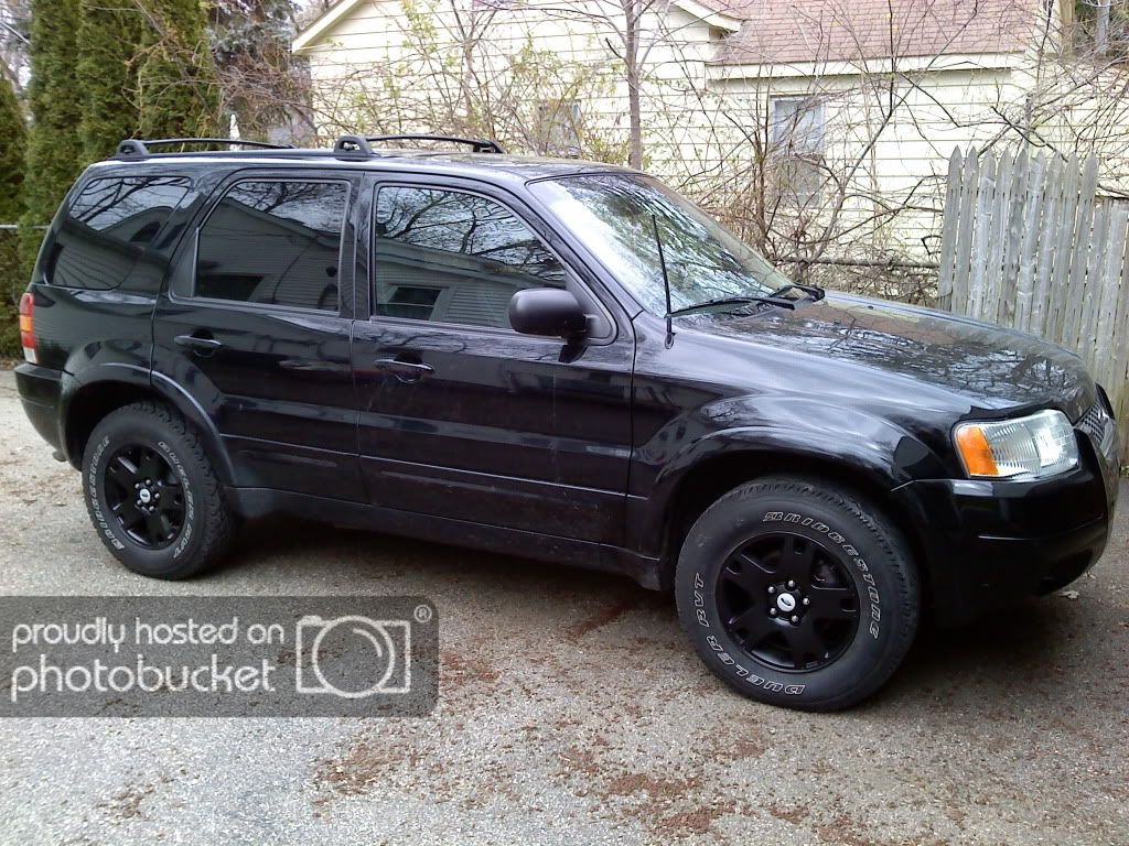Ford Escape Black Rims In Modified Ford Escape 2007 Autos