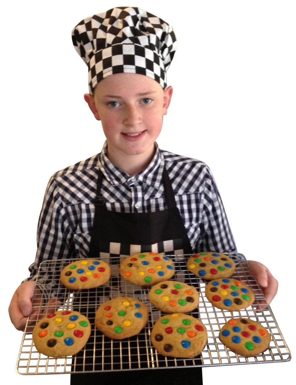 Perfect For Cooling Cookies Checkered Chef Stainless Steel