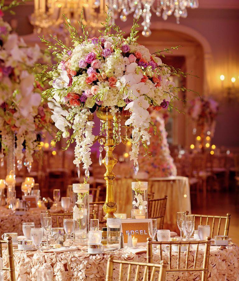 Flower Arrangements For Wedding Receptions: Wedding Reception Centerpiece Styles To Inspire Your