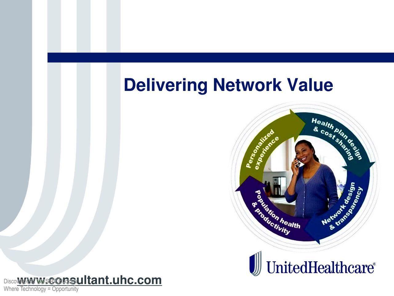 #DeliveringNetwork Value through individual #health ownership, #Medical