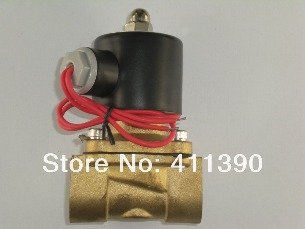 1 Electric Solenoid Valve 220 Volt Water Diesel Normally Closed