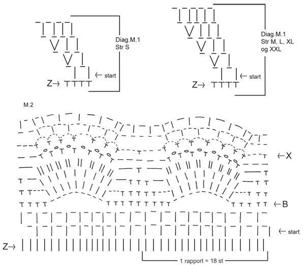 Hæklet DROPS tunika med Muslinge mønster i Alpaca og Cotton Viscose ...