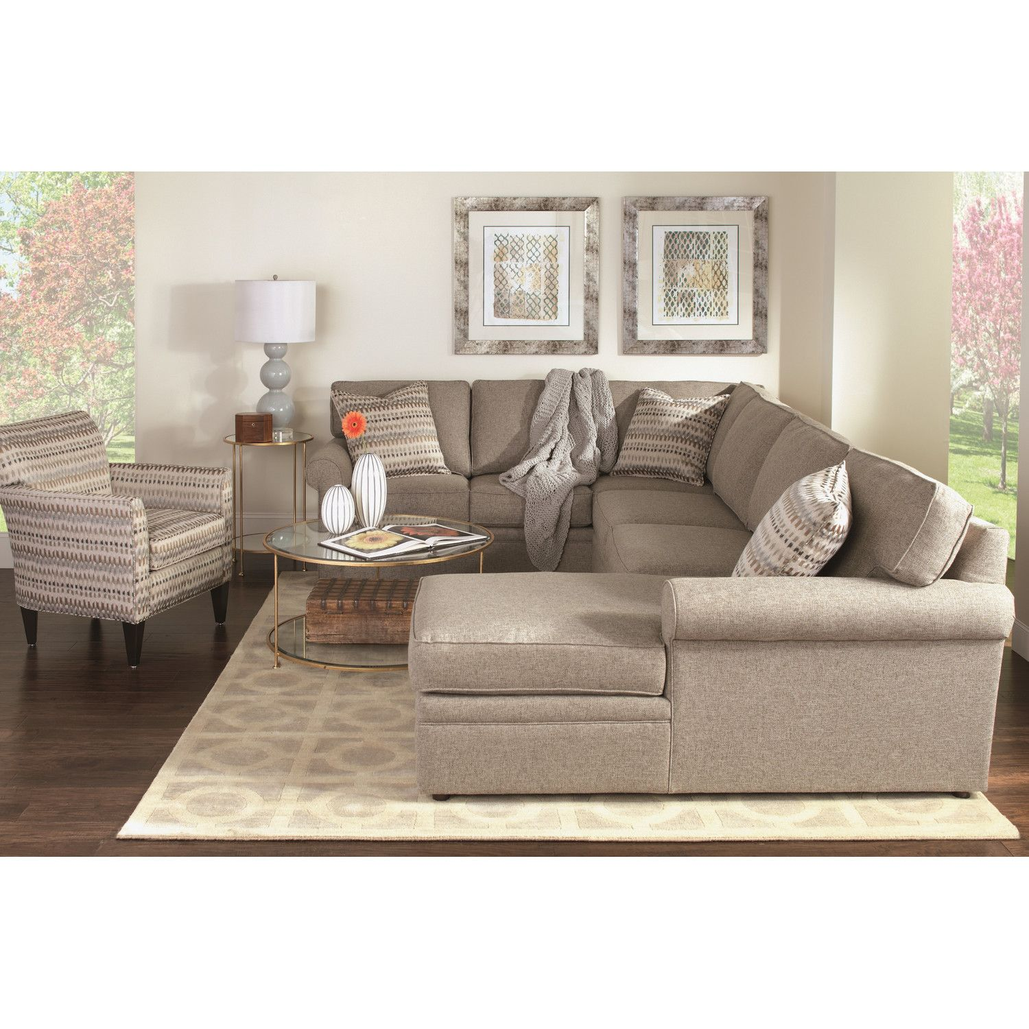 Cheap Furniture Brands: Rowe Furniture Brentwood Sectional