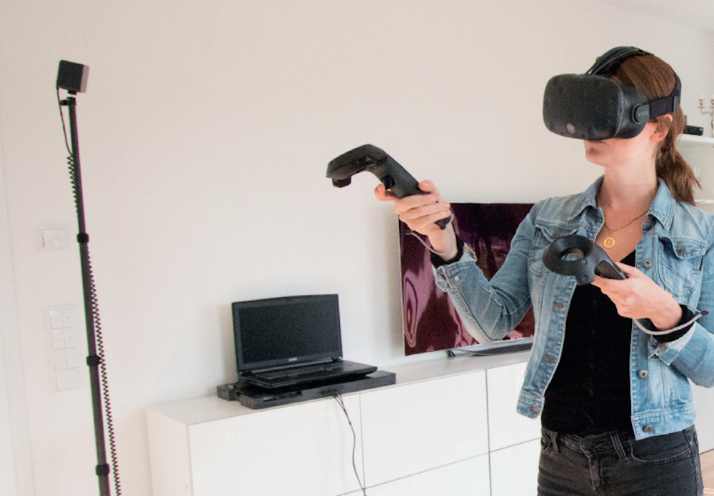 Set Up Your HTC Vive Anywhere in Three Minutes Htc vive