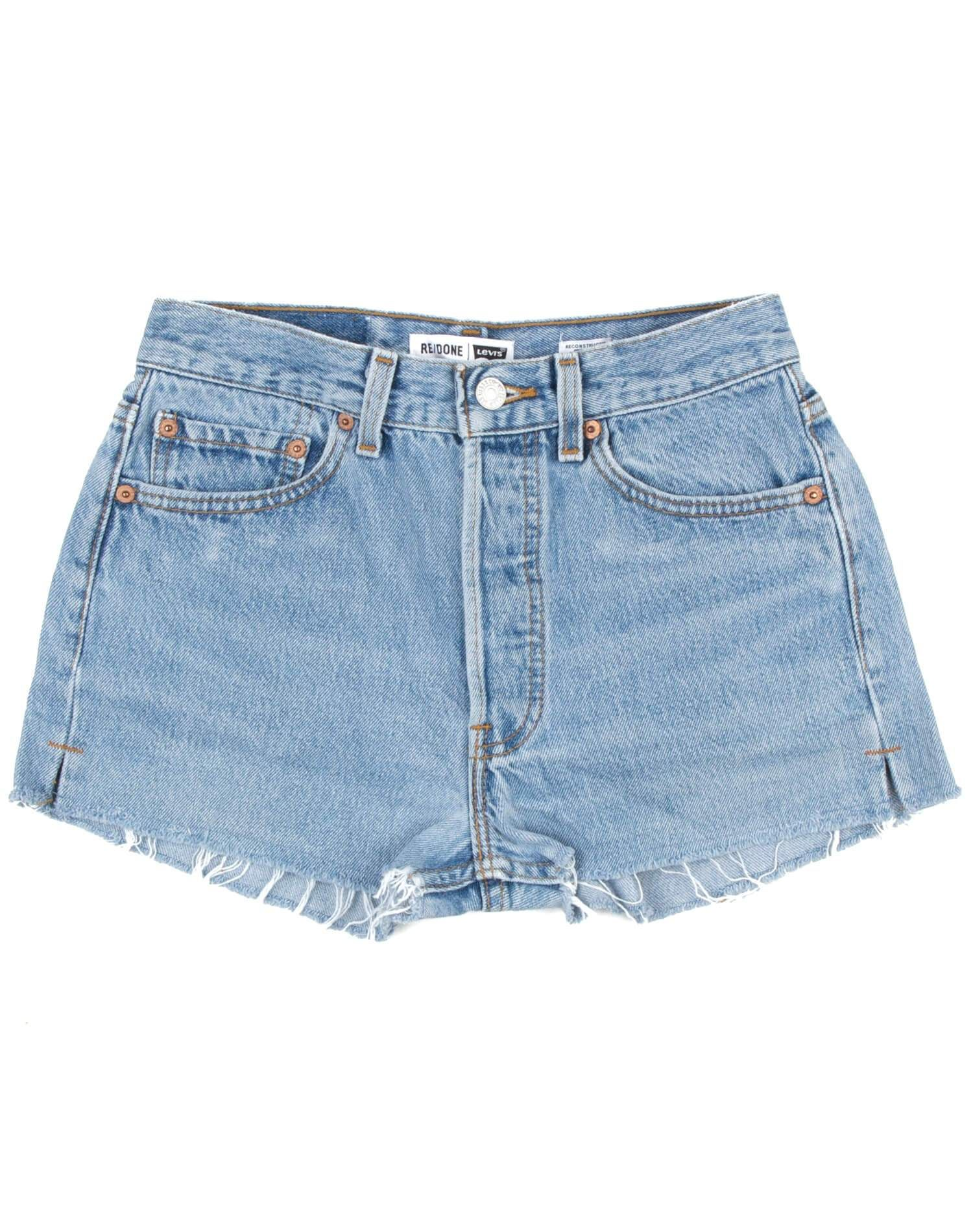 Vintage Levi's | The Shorts | Light Blue | Size 23 | No. 23TS1164312 | Denim #lightblueshorts