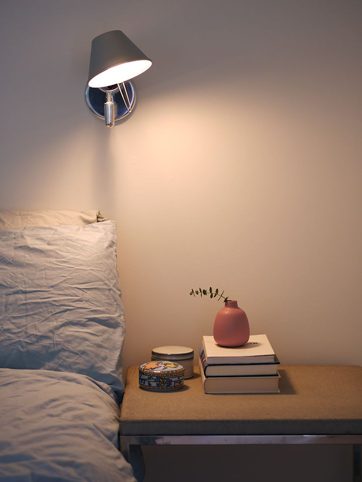 A Corner Of My Home Blush And Blue Wall Lamps Bedroom Tolomeo Wall Lamp Home