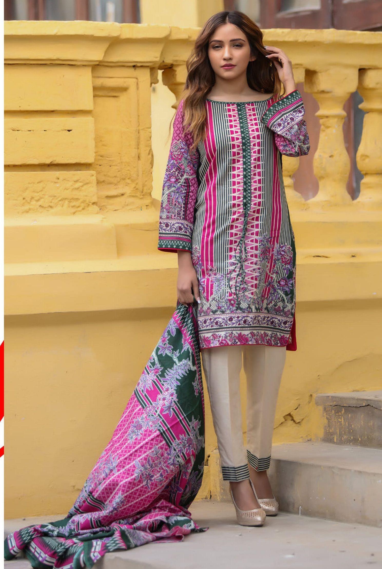 c4bc21880c Riwaz Printed Lawn Collection Original Pakistani Suits 7a ...