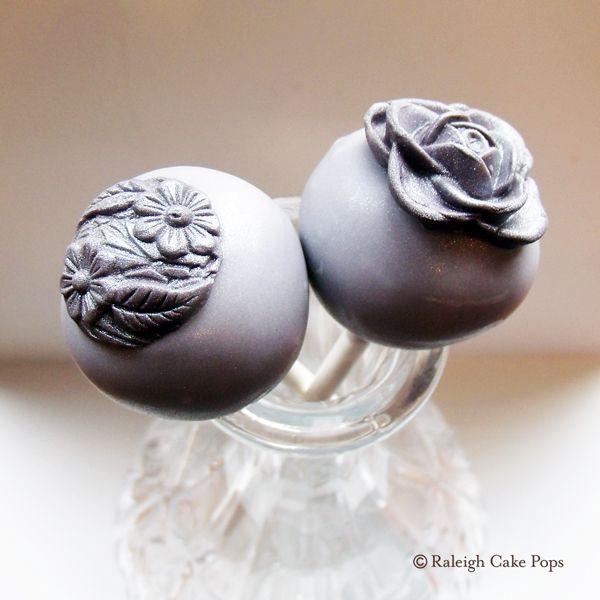 Cake Pops + Brooch Lover = Pewter Cake Pops ;) #cakepops