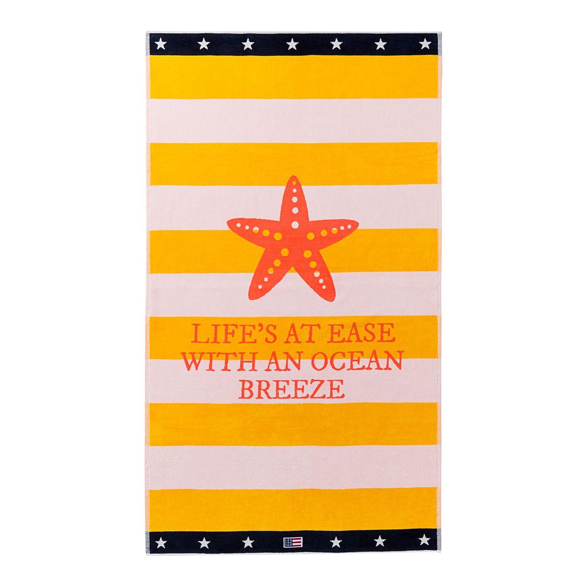 39 toalla de playa 39 de lexington toalla de la firma lexington de terciopelo de algod n y - Marcador de ropa mine el corte ingles ...