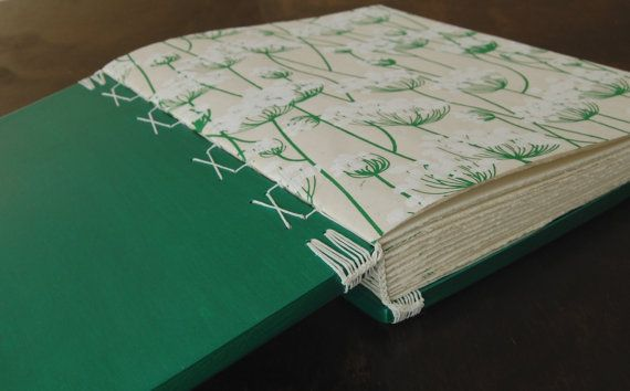 Wood Wedding Guest Book or Journal by ThreeTreesBindery