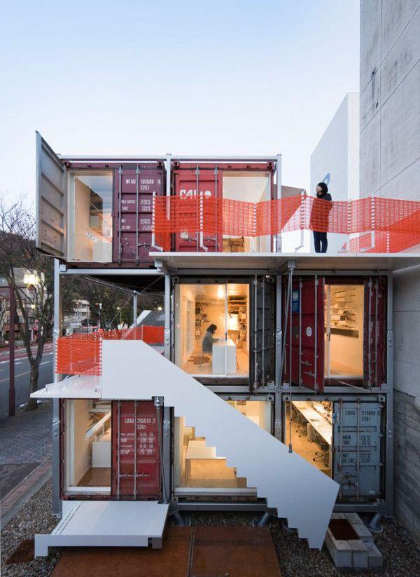 Sugoroku Office by Daiken-Met Architects + Nawakenji-M ideasgn - short term rental contract form