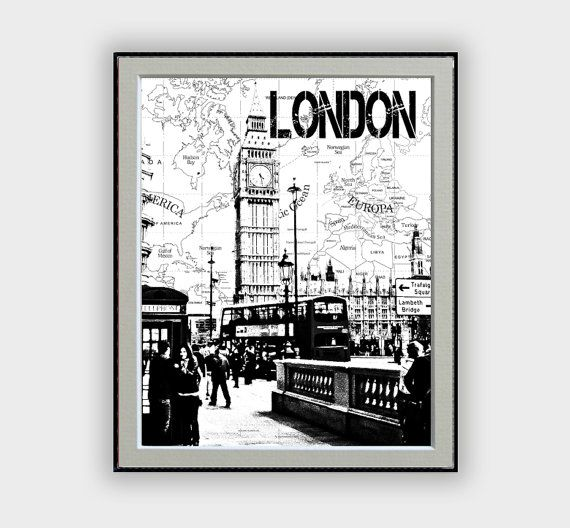 London city poster with world map background black and white london city poster with world map background black and white london big gumiabroncs Images