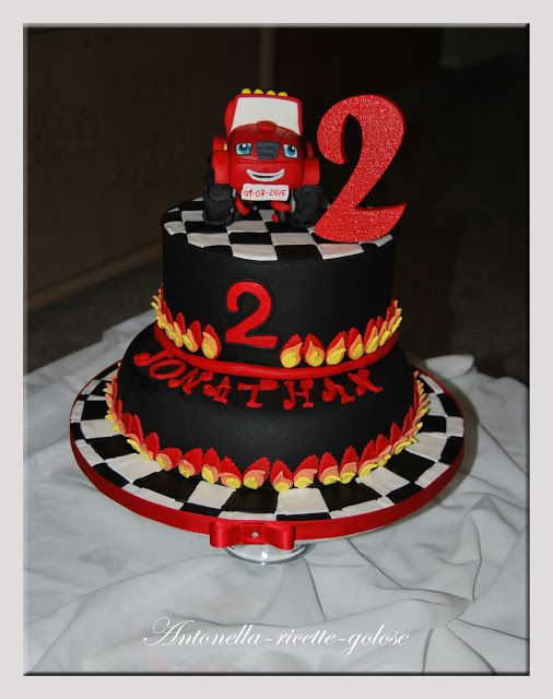 """IL fantastico mondo di Antonella!: """"Torta Blaze"""""""