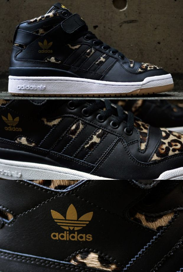 62972d1c8e0 adidas Originals Forum Mid Leopard sneaker | fresh kicks | Adidas ...