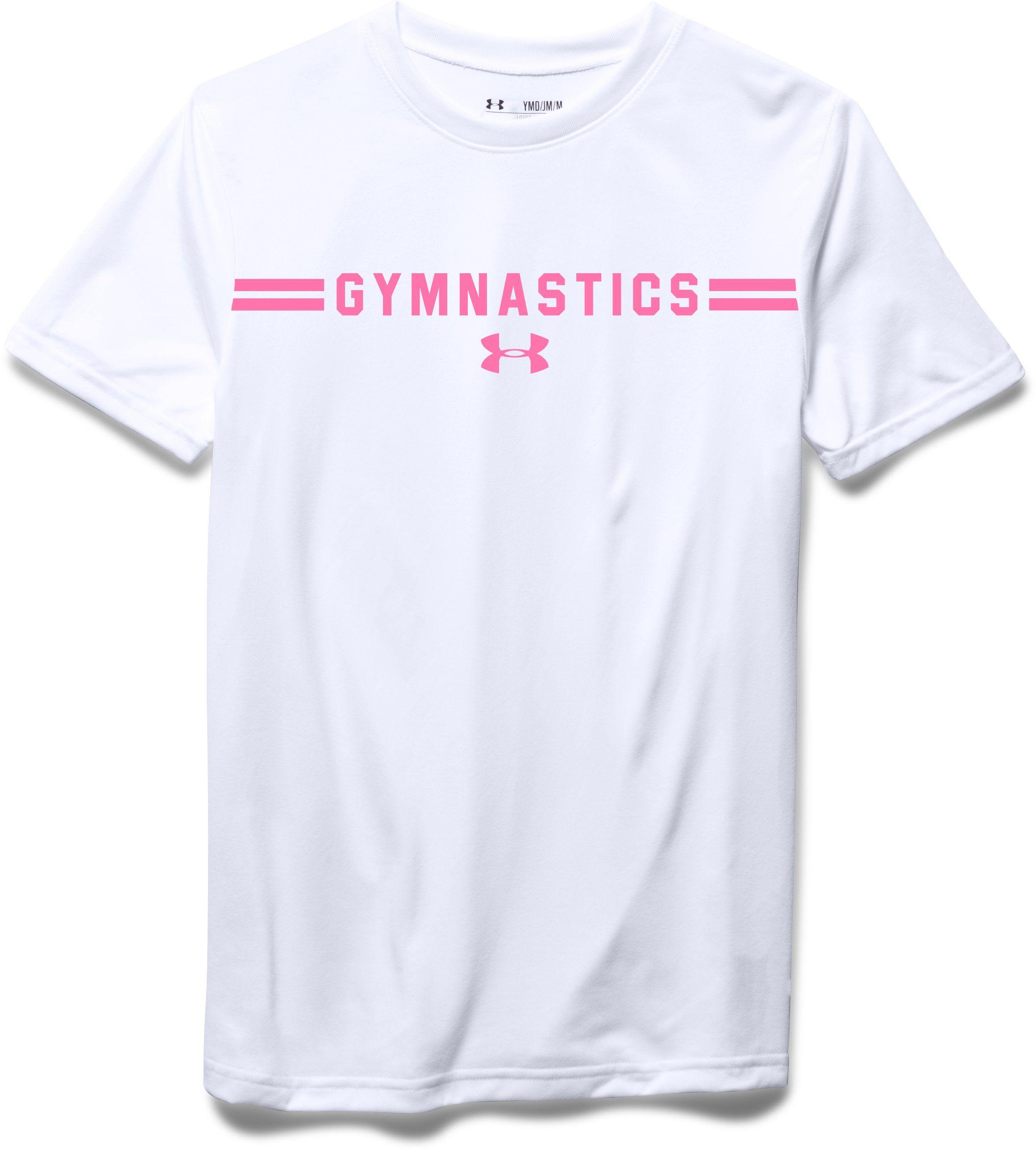 f52743533b Girls  UA Gymnastics T-Shirt