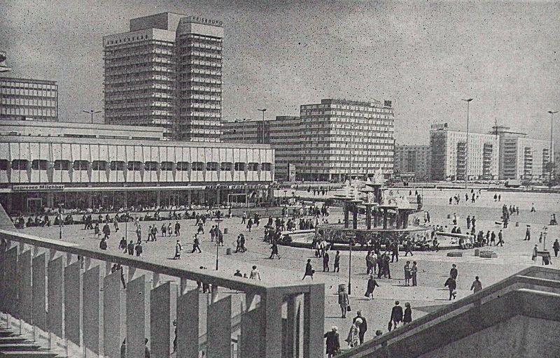Alexanderplatz 1970 Berlin Geschichte Berlin Hauptstadt Berlin