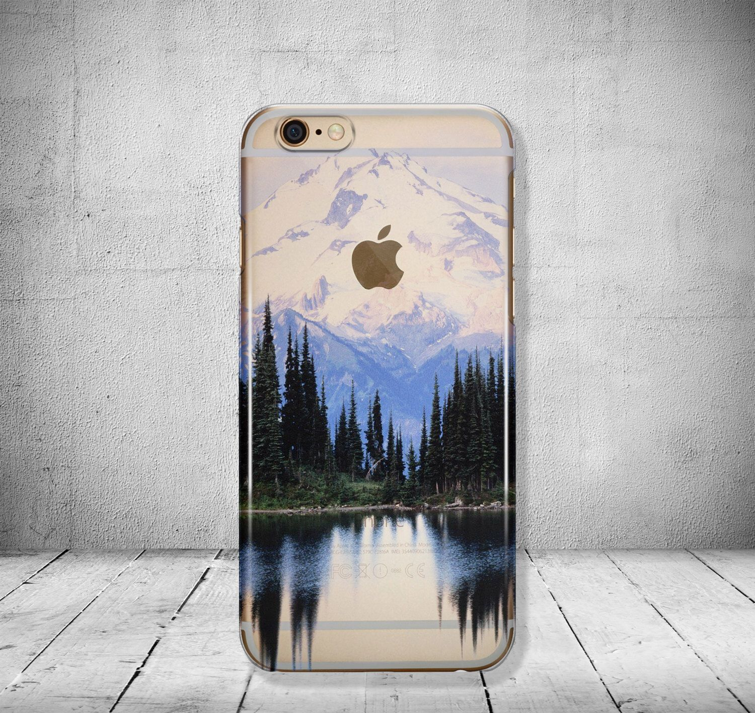 iPhone 6 Case Mountains Clear iPhone 7 Case Clear iPhone 6 Plus Case ...