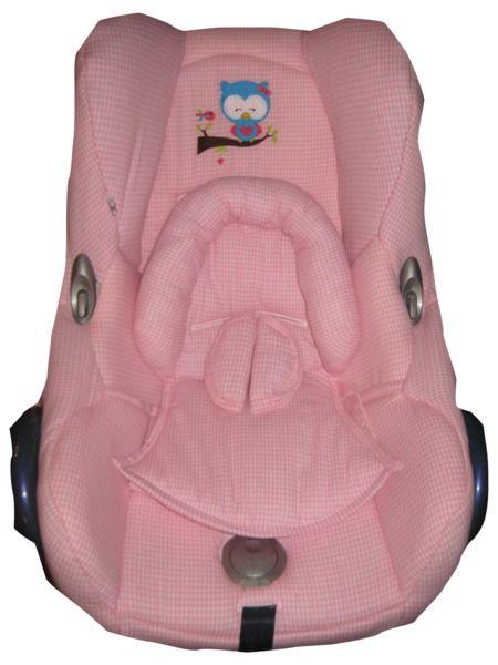Ersatzbezug Maxi Cosi Cabriofix Bezug Vichy Eule Cabrio Kinder Kleidung Kinderkleidung