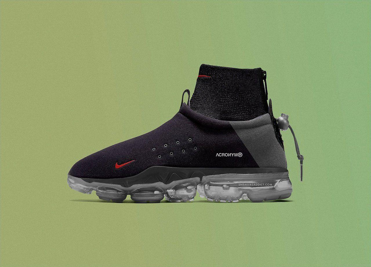 9390faca809 Acronym x Nike Air Vapormax Flyknit Moc 2018 via SNEAKERS ADDICT ...