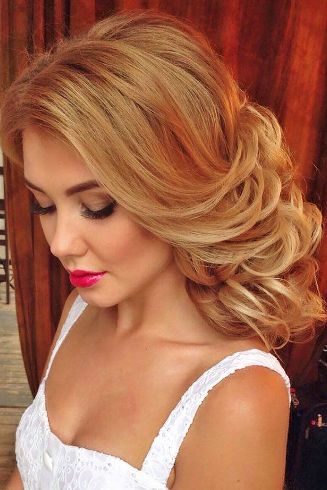 Wedding Guest Hairstyles: 42 The Most Beautiful Ideas | Easy wedding guest hairstyles, Wedding ...