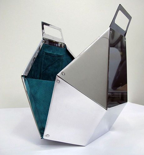Aluminium Purse Funky Purses Metallic Purse Metallic Bag