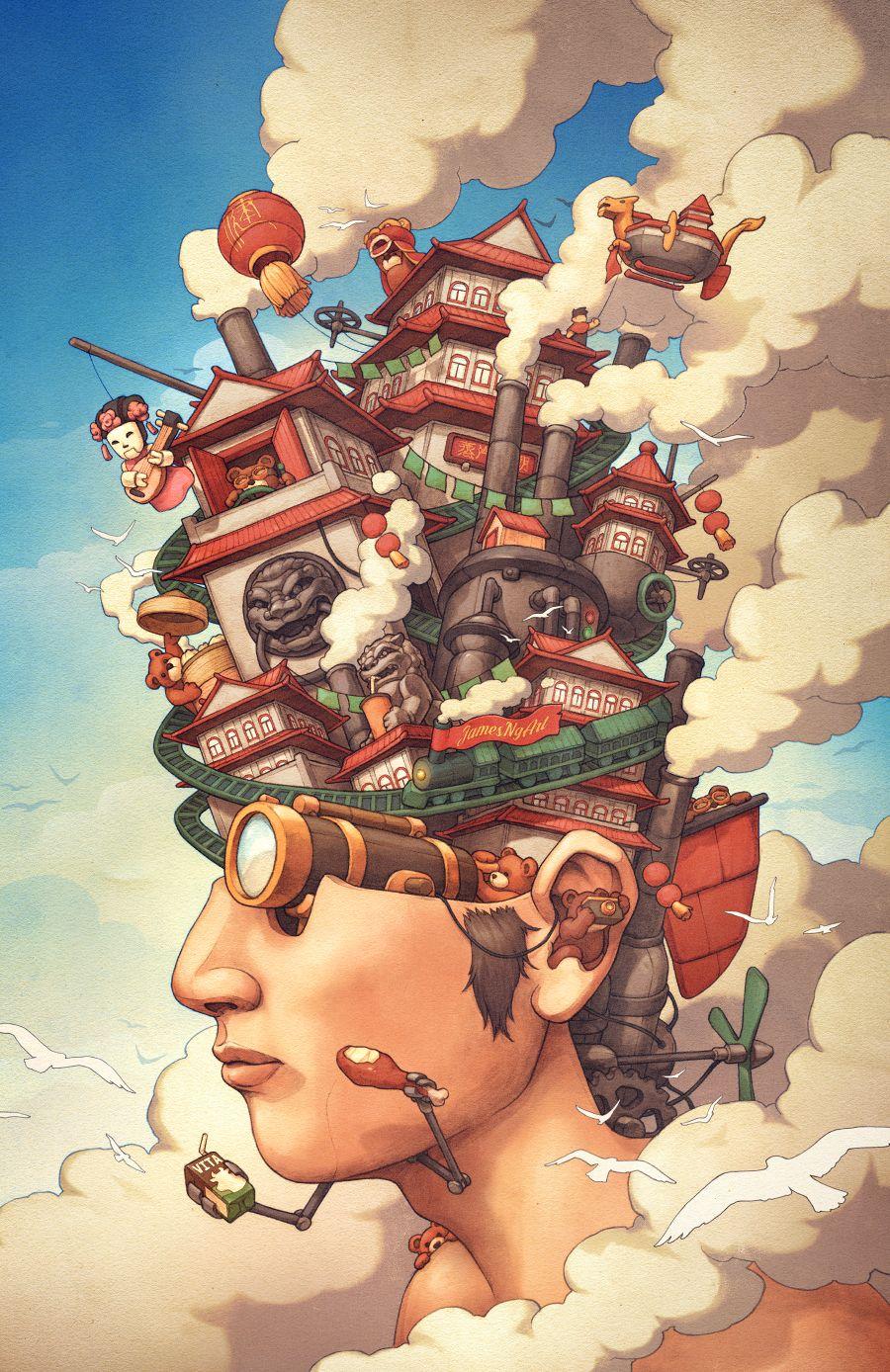Illustrations Steampunk Illustration