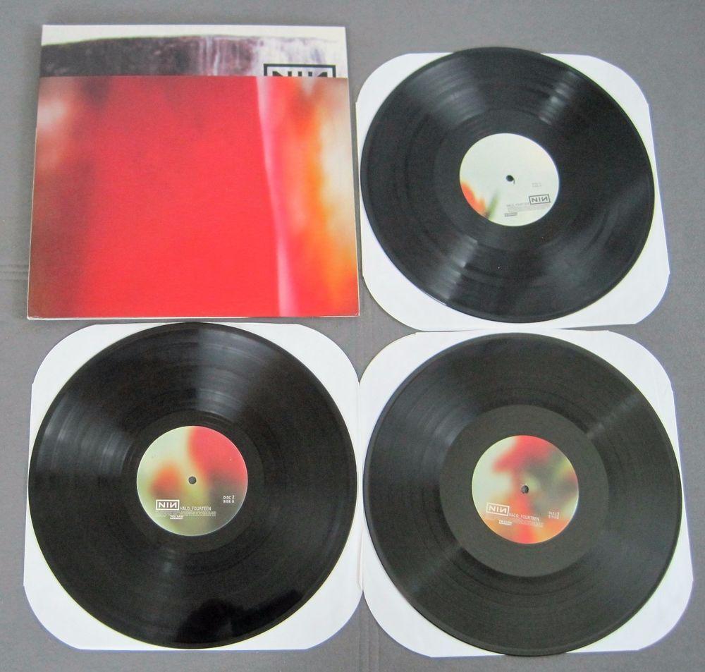 Nine Inch Nails The Fragile 3 LP Set 1999 Trent Reznor | ** eBay ...