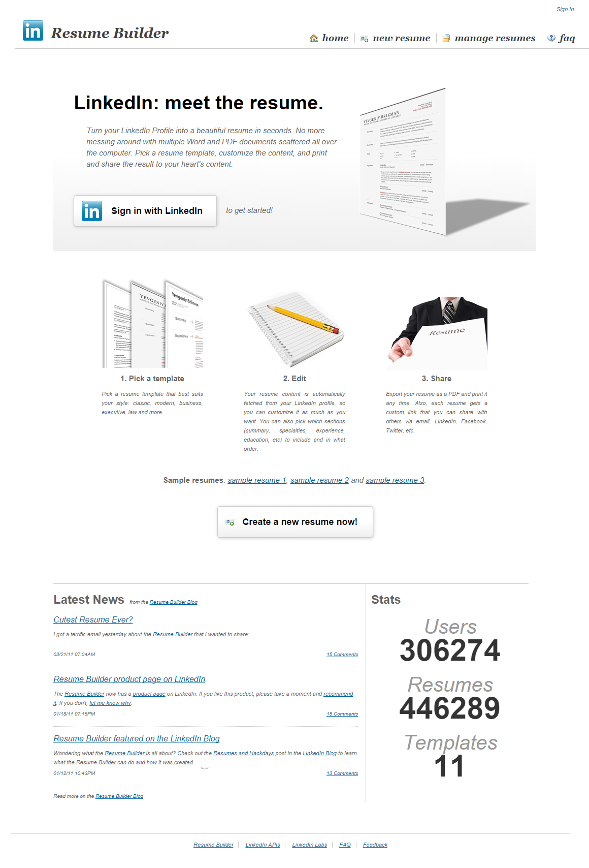 LinkedIn Resume Builder Resume builder, Resume, Resume