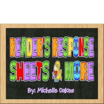 In this packet you will find  response sheets for a whole year to use with any book. They are especially created for Readers workshop, guided reading and center time. The...