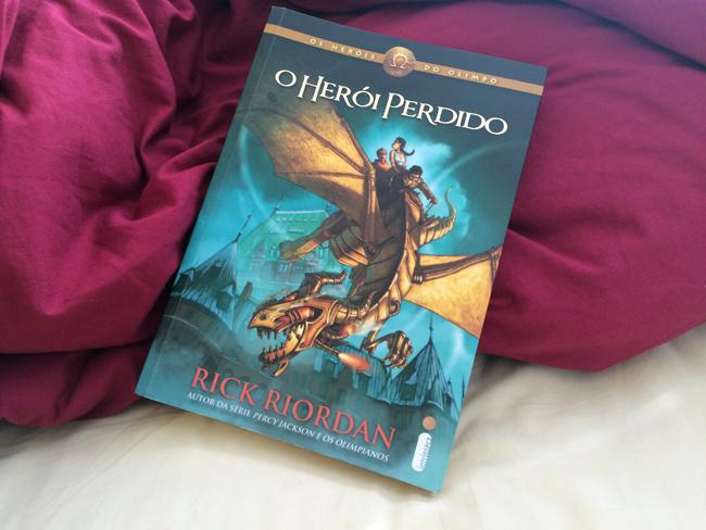Resenha O Herói Perdido - Rick Riordan   Dani Que Disse #livros #paraler #dicasdelivros #resenha