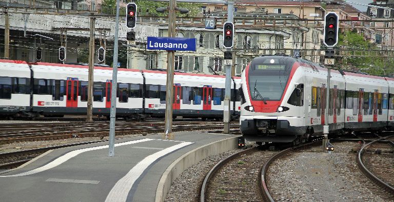 47 injured when two trains collide head-on near Lausanne in ...