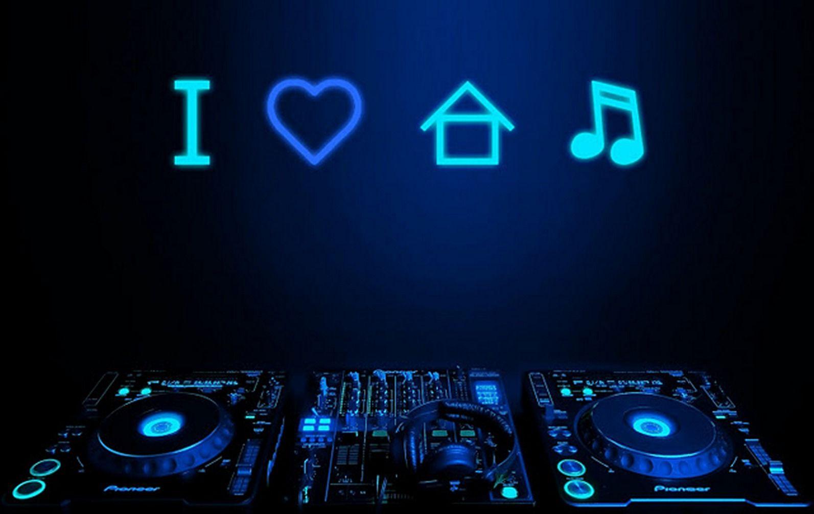 I Love House Music Musique house, Électro, Dj mixing