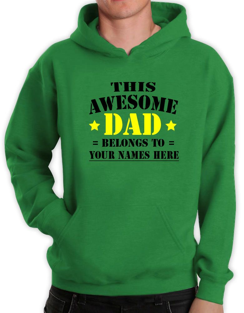 This Is What An Awesome Dad Looks Like Hoody Hoodie Fathers Day Gift Present