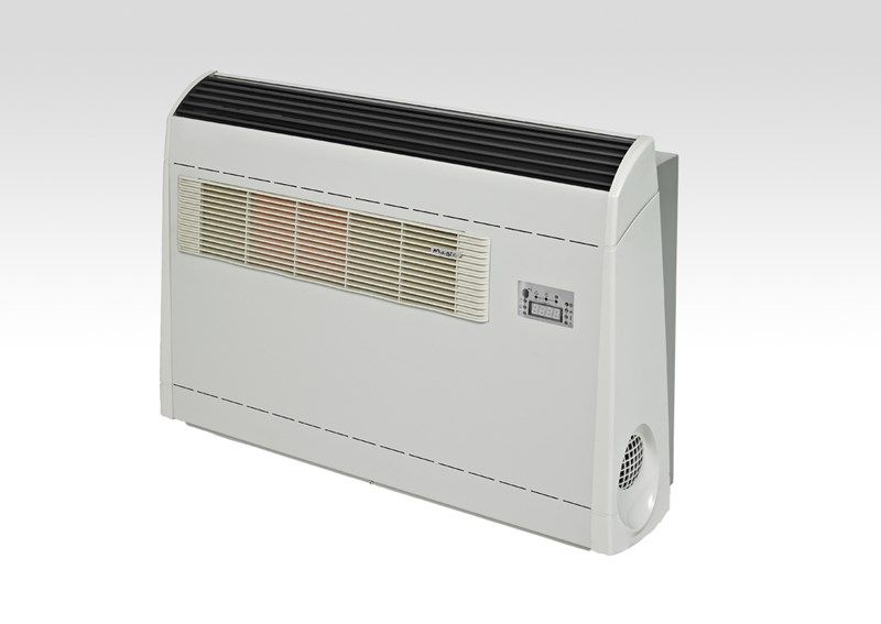 With The Magic Fox Heating And Cooling Is Taken Care Of With A