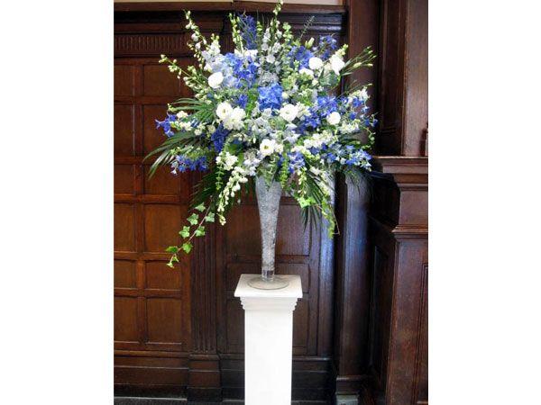 Arreglos de flores para bodas de noche azules floral - Arreglos de flores para bodas ...