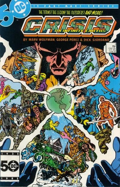 crisis on infinite earths #3 | Dc comic books, Comics, Comic book artwork
