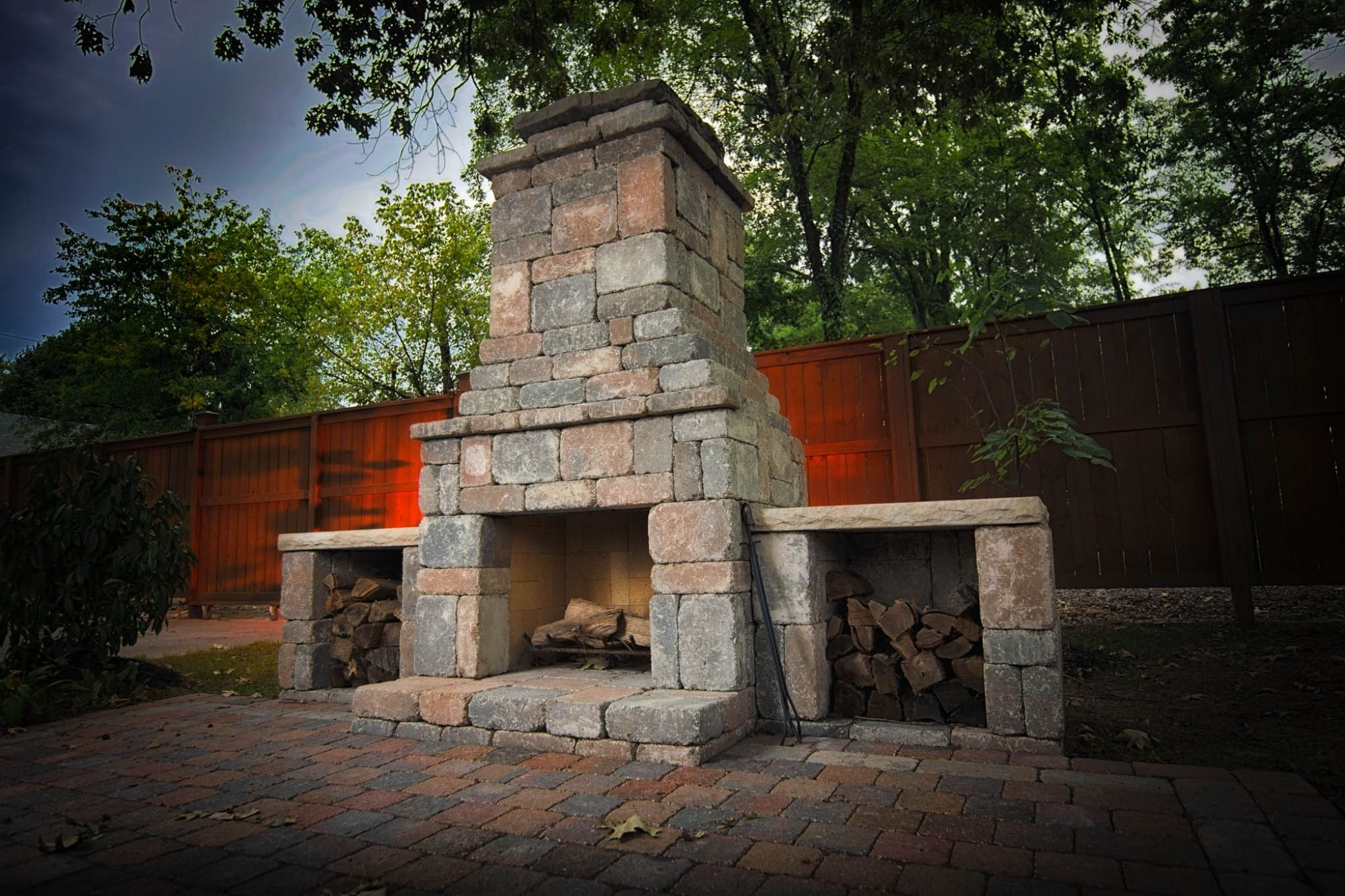 masonry outdoor fireplace kit favorite interior paint colors check