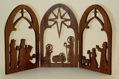 scroll saw christmas ornament patterns free - Google Search | wood ...