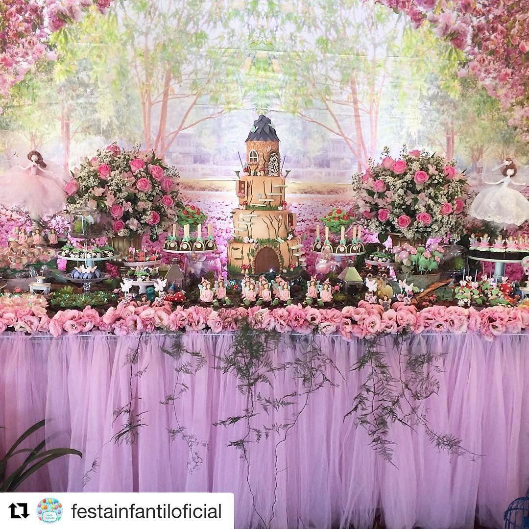 jardim das fadas on Instagram niver de lu Festa tema jardim, Decoracao festa jardim e  -> Decoração De Aniversario Jardim Encantado Das Borboletas