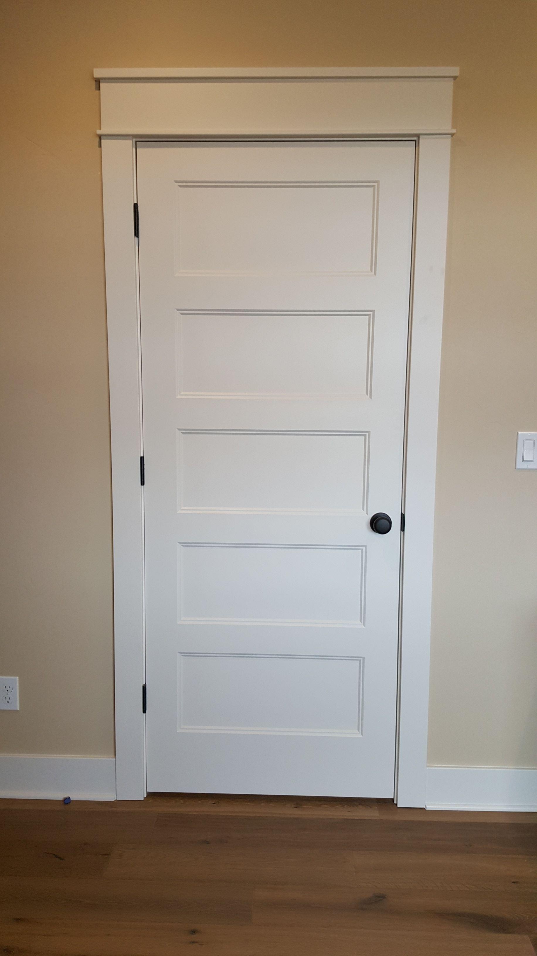 Conmore 5 Panel Door With Shaker Trim Cabinet Doors Interior Door Styles Cabinet